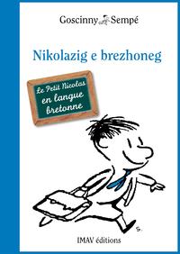 Livre numérique Le Petit Nicolas en breton