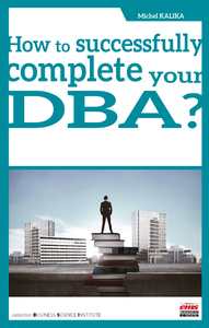 E-Book How to successfully complete your DBA?