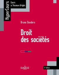 Livre numérique Droit des sociétés