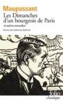 Livre numérique Les Dimanches d'un bourgeois de Paris et autres nouvelles