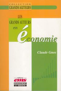 Livre numérique Les grands auteurs en économie