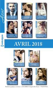 Livre numérique 11 romans Azur + 1 gratuit (nº 3938 à 3948 - Avril 2018)