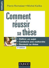 Electronic book Comment réussir sa thèse - 3e éd.