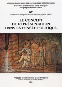 Livre numérique Le concept de représentation dans la pensée politique