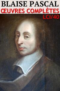 Livre numérique Blaise Pascal - Oeuvres complètes