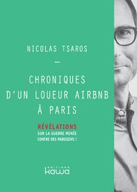 Livre numérique Chroniques d'un loueur Airbnb à Paris