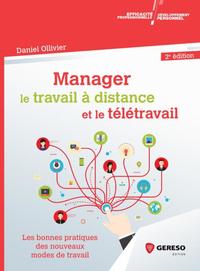 Livre numérique Manager le travail à distance et le télétravail