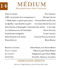 Livro digital Médium n°14, janvier-mars 2008