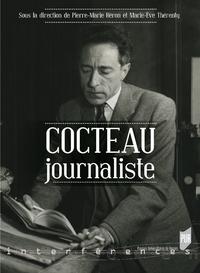 Livre numérique Cocteau journaliste