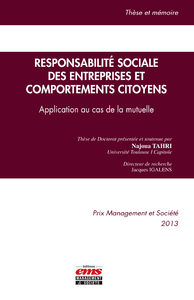 Livre numérique Responsabilité sociale des entreprises et comportements citoyens