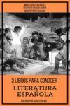 Livre numérique 3 Libros para Conocer Literatura Española