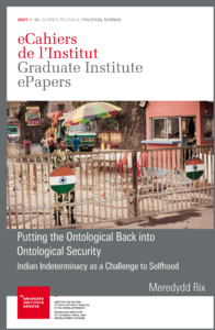 Electronic book Putting the Ontological Back into Ontological Security