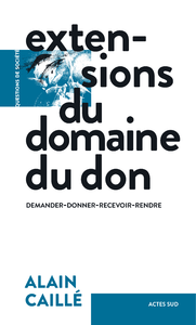 Livre numérique Extensions du domaine du don