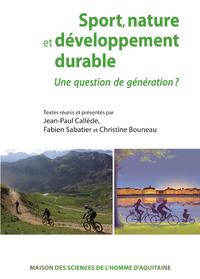 Livre numérique Sport, nature et développement durable