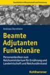 E-Book Beamte, Adjutanten, Funktionäre