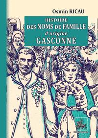 Livre numérique Histoire des Noms de famille d'origine gasconne