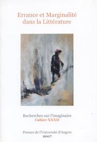 Livre numérique Errance et marginalité dans la littérature