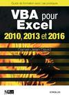 Livre numérique VBA pour Excel 2010, 2013 et 2016