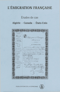Livre numérique L'émigration française