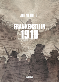 Electronic book Frankenstein 1918