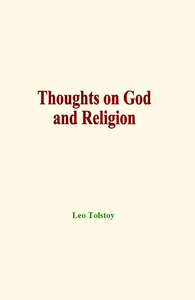 Electronic book Thoughts on God and Religion
