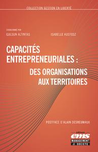 Livre numérique Capacités entrepreneuriales : des organisations aux territoires