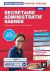 Livre numérique Reussite Concours - Secrétaire administratif, SAENES - Catégorie B - 2021 - Préparation complète