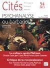 Livre numérique Cités 2013 n° 54