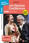 Livro digital Les Fausses Confidences de Marivaux - BAC Français 1re 2021 - Parcours associé : Théâtre et stratagème - édition intégrale - Carrés Classiques Oeuvres Intégrales - EPUB 2021