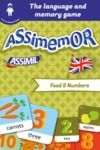 Electronic book Assimemor – My First English Words: Food and Numbers
