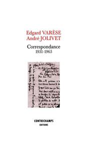 Livre numérique Correspondance (1931-1965)