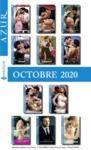 Livre numérique Pack mensuel Azur : 11 romans + 1 gratuit (Octobre 2020)