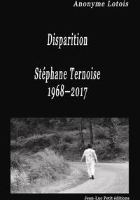E-Book Disparition Stéphane Ternoise 1968-2017