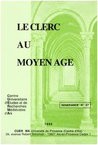Livre numérique Le clerc au Moyen Âge