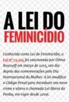 Livre numérique A Lei do Feminicídio
