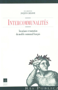 Electronic book Intercommunalités