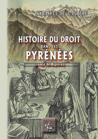 Livre numérique Histoire du droit dans les Pyrénées