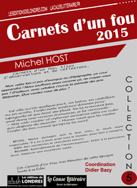 Livre numérique Carnets d'un fou 2015