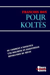 Livre numérique Pour Koltès