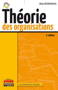 Livre numérique Théorie des organisations - 3e édition