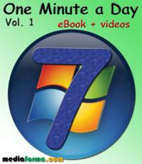 Livre numérique Windows 7 - One Minute a Day Vol. 1 with Videos