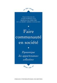 Livre numérique Faire communauté en société
