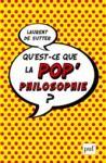 Livro digital Qu'est-ce que la pop'philosophie ?