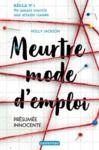 Libro electrónico Meurtre mode d'emploi (Tome 1) - Présumée innocente