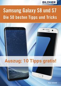 Livre numérique 10 der 50 besten Tipps und Tricks für das Samsung Galaxy S8 und S7