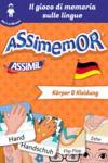 Electronic book Assimemor - Le mie prime parole in tedesco: Körper und Kleidung