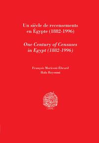 Livre numérique Un siècle de recensements en Égypte (1882-1996)