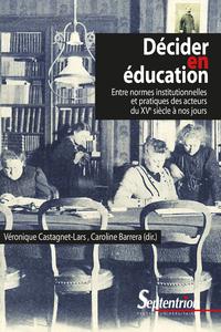 Livre numérique Décider en éducation