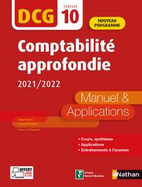 Livre numérique DCG 10 Comptabilité approfondie - Manuels et applications - Epub 2021