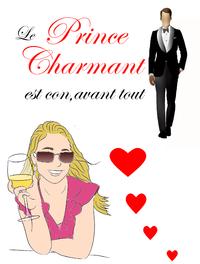 Livre numérique Le prince charmant est con, avant tout